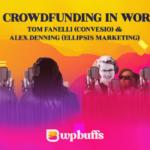E102 – Equity crowdfunding in WordPress (Tom Fanelli, Convesio & Alex Denning, Ellipsis Marketing)
