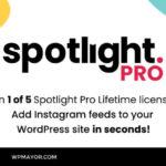 [Giveaway] Win 1 of 5 Spotlight Instagram Feeds PRO Lifetime Licenses