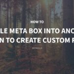 How to Bundle Meta Box into another Plugin to Create Custom Fields