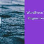 7 Must have WordPress Web Design Plugins For Beginners-Seeromega