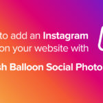 How to add an Instagram feed on your website with Smash Balloon Social Photo Feed