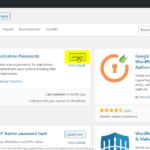 WordPress Application Passwords