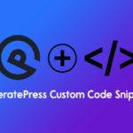 GeneratePress Custom Code Snippets – WP Logout