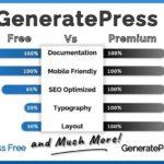 GeneratePress Free vs Premium – Detailed Comparison