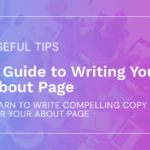 A Guide to Writing Your About Page