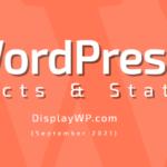 WordPress Infographic – September 2021 — DisplayWP